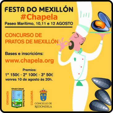 """Concurso gastronómico """"Festa do Mexillón 2018"""""""